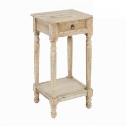 Table De Chevet en Bois (L.79Xl.47Xh.35cm) EDOUARD