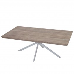 TABLE BASSE CHENE LEO - BOIS NATUREL