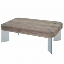 TABLE BASSE CHENE SAUVAGE COLE - BOIS MARRON