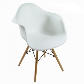 Chaise Mac design blanche