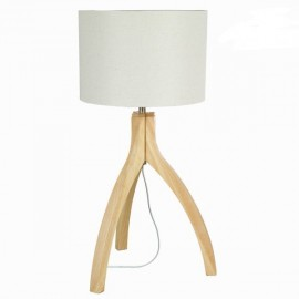 Lampe de table Akti en bois