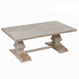 Table basse en bois de pin