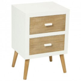 Table de chevet en bois Scandi