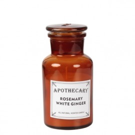 Bougie Apothicaire Rosemary White Ginger (net:113gr)