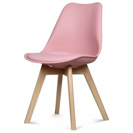 Chaise Scandinave Rose ASTA x2