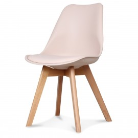 Chaise Scandinave Blush ASTA x2