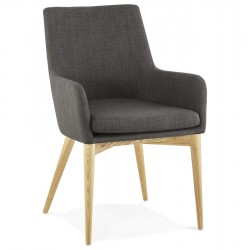 Fauteuil CALGARY GRIS FONCE