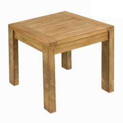 Table Basse Carree en Bois (L.50Xl.50Xh.50cm) SULIVAN