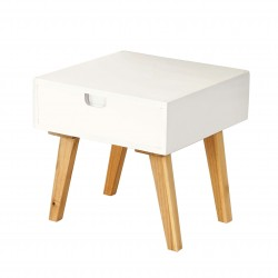 TABLE DE CHEVET MARCO - BOIS BLANC